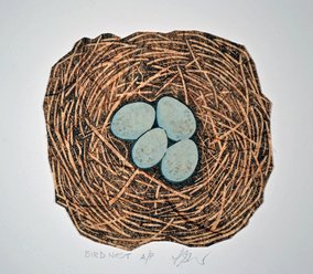 Bird Nest 1 by Patricia Sundgren Smith