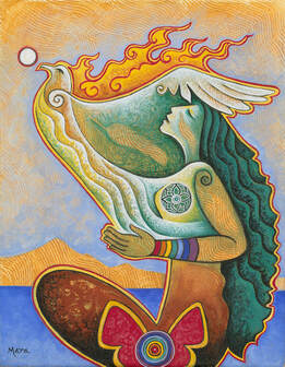 Rooted in Reverence, Seated in Spirit by Mara Friedman
